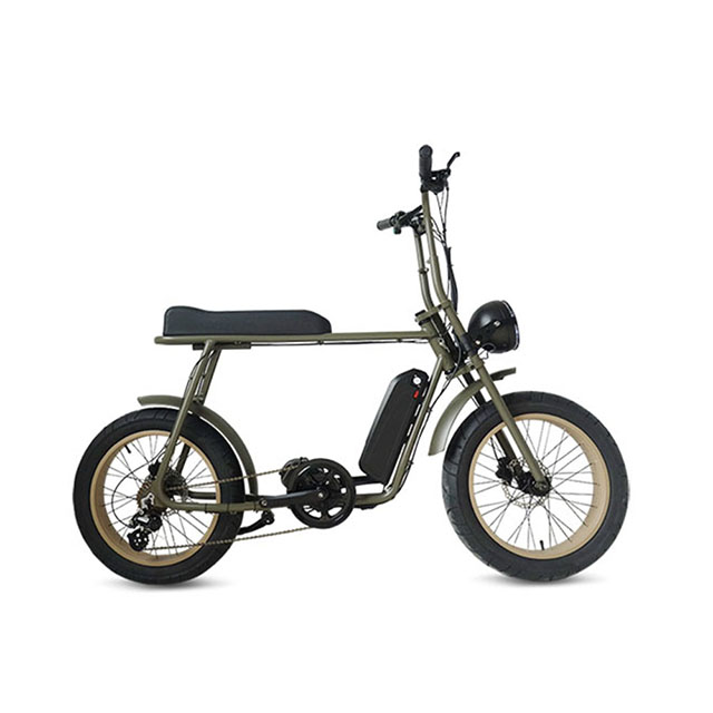 Mario Retro-68 Mid drive Mini CoCoo City electric mini bike
