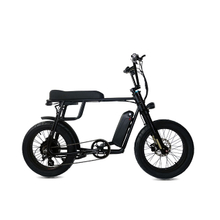 Mario-Retro Plus 48v 1000w front suspension MAC Rear hub motor fat tire ebike